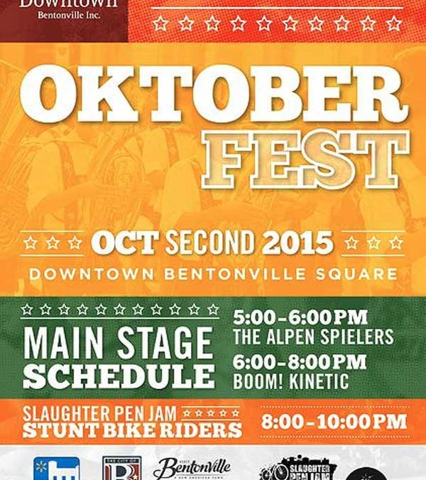 First Friday 10-2-15 Downtown Bentonville