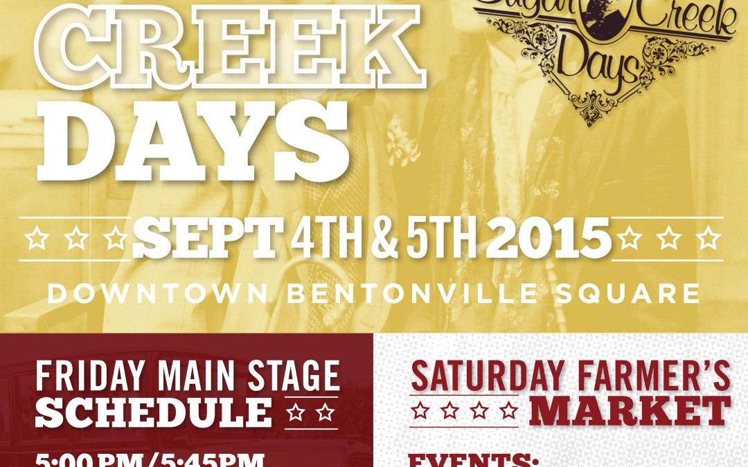 First Friday 9-4-15 Downtown Bentonville