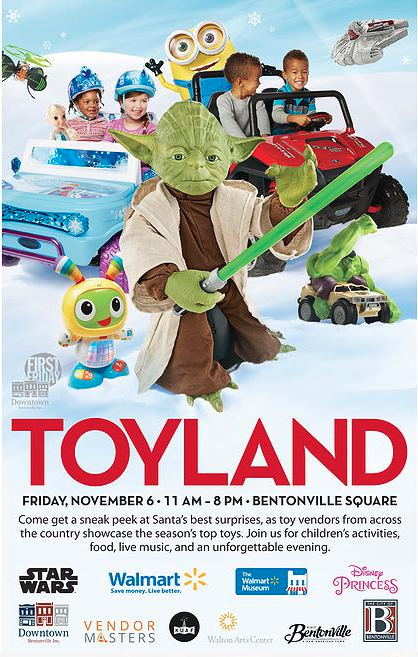 First Friday 11-6-15 Downtown Bentonville