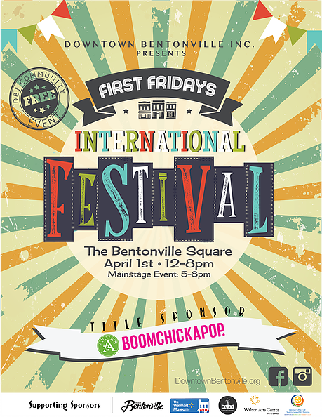 First Friday 4-1-16 Downtown Bentonville