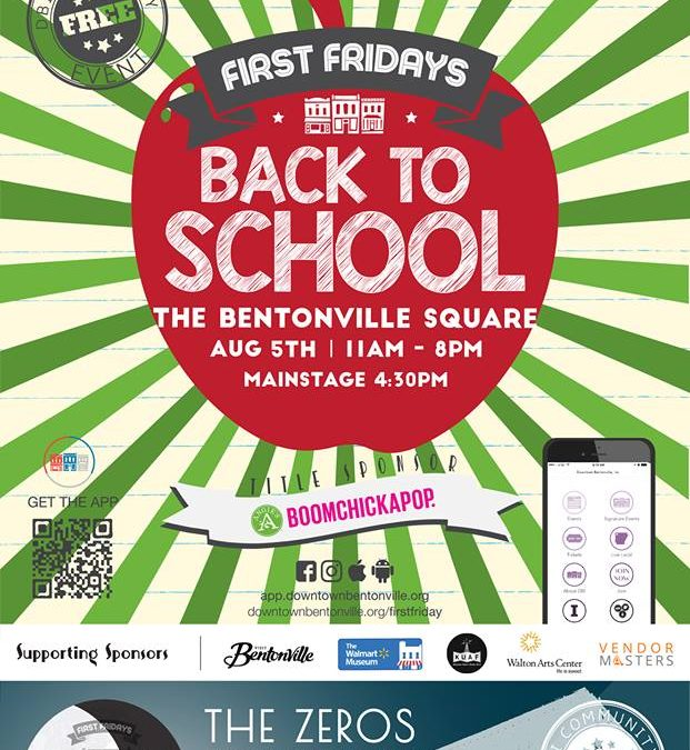 First Friday 8-5-16 Downtown Bentonville