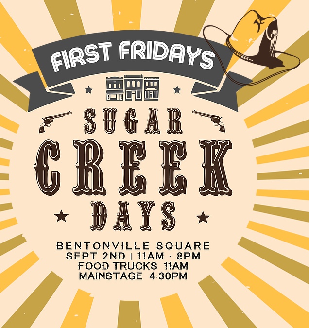 First Friday 9-2-16 Downtown Bentonville