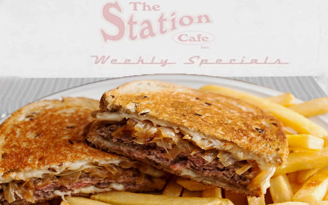 The Station Cafe Weekly Specials 9-5-17