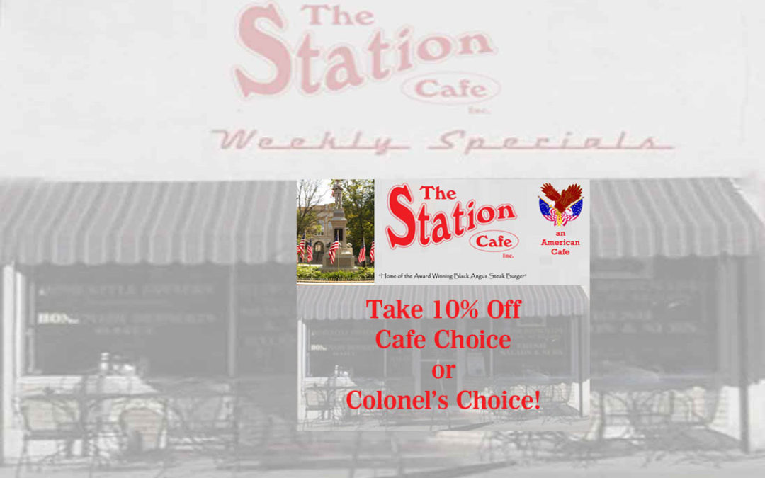 The Station Weekly Specials 8-7-17